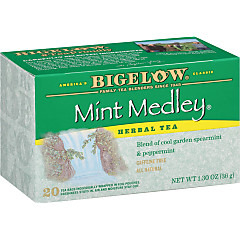 Mint Medley Herbal Tea - Case of 6 boxes- total of 120 tea bags