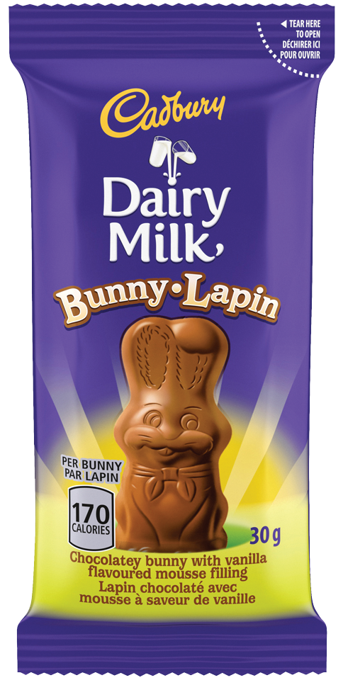 CAD DAIRY MILK MOUSSE LAPIN 30G