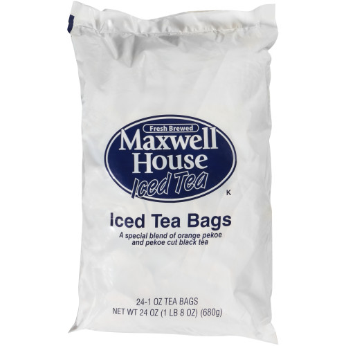 MAXWELL HOUSE Iced Tea Bags, 1 oz. Bags (Pack of 96)