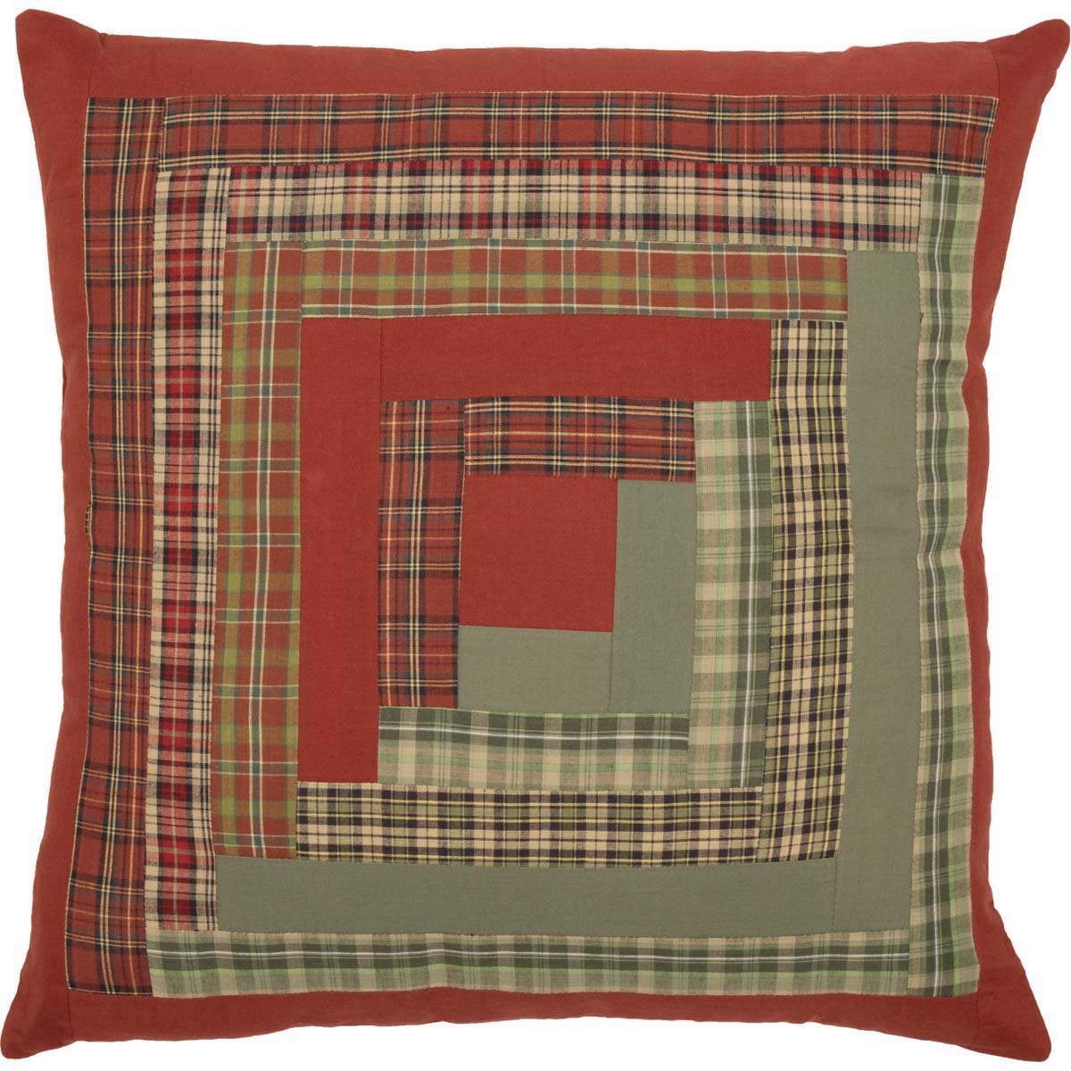 Gatlinburg Patchwork Pillow 18x18