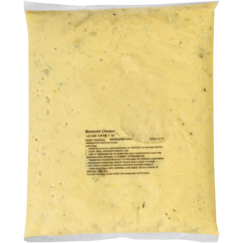 HEINZ CHEF FRANCISCO Broccoli & Cheese Soup, 4 lb. Bag (Pack of 4)