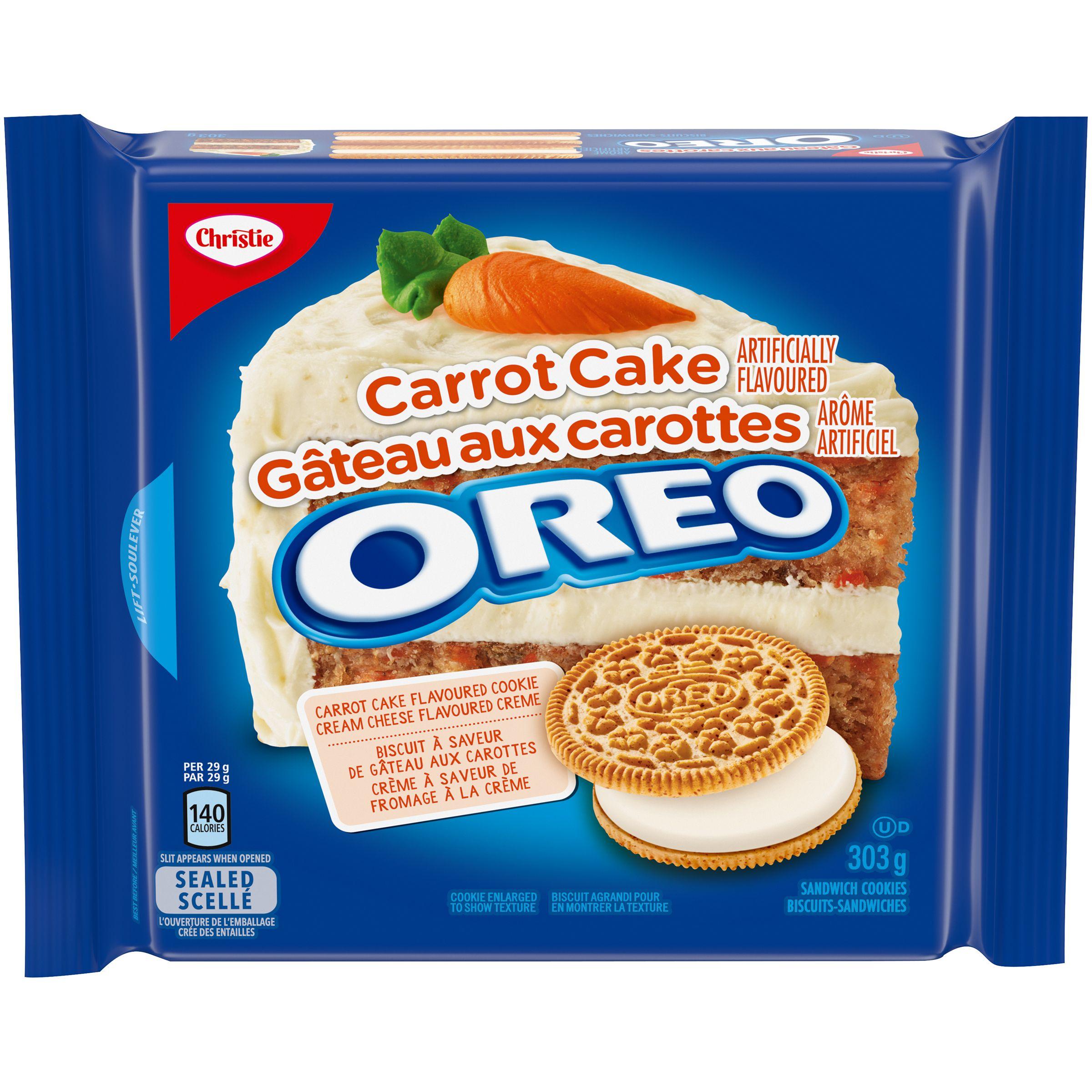 Oreo Gâteau Aux Carottes Biscuits-Sandwiches 303 G