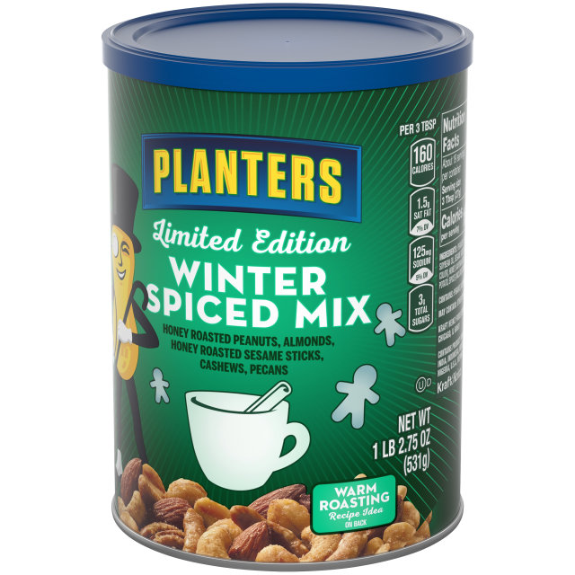 PLANTERs Winter Spiced Mix 18.75 oz Can