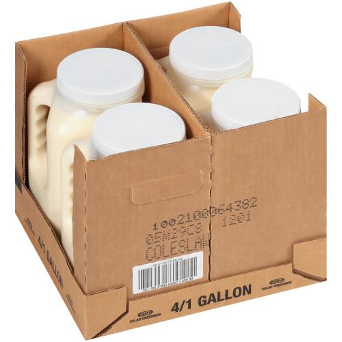 KRAFT Coleslaw Dressing, 1 gal. Jugs (Pack of 4)