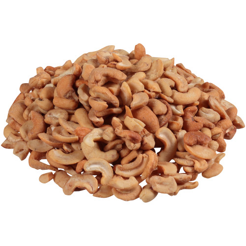 Planters Cashews Halves & Pieces with Sea Salt, 6 ct Casepack, 46 oz Canisters