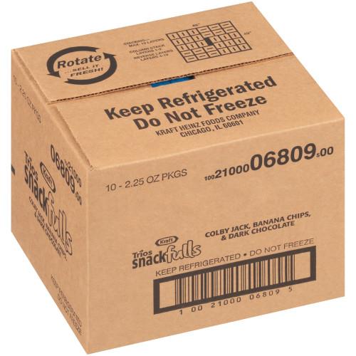 KRAFT Trios Colby Jack, 2.25 oz. Single Serve (Pack of 10)