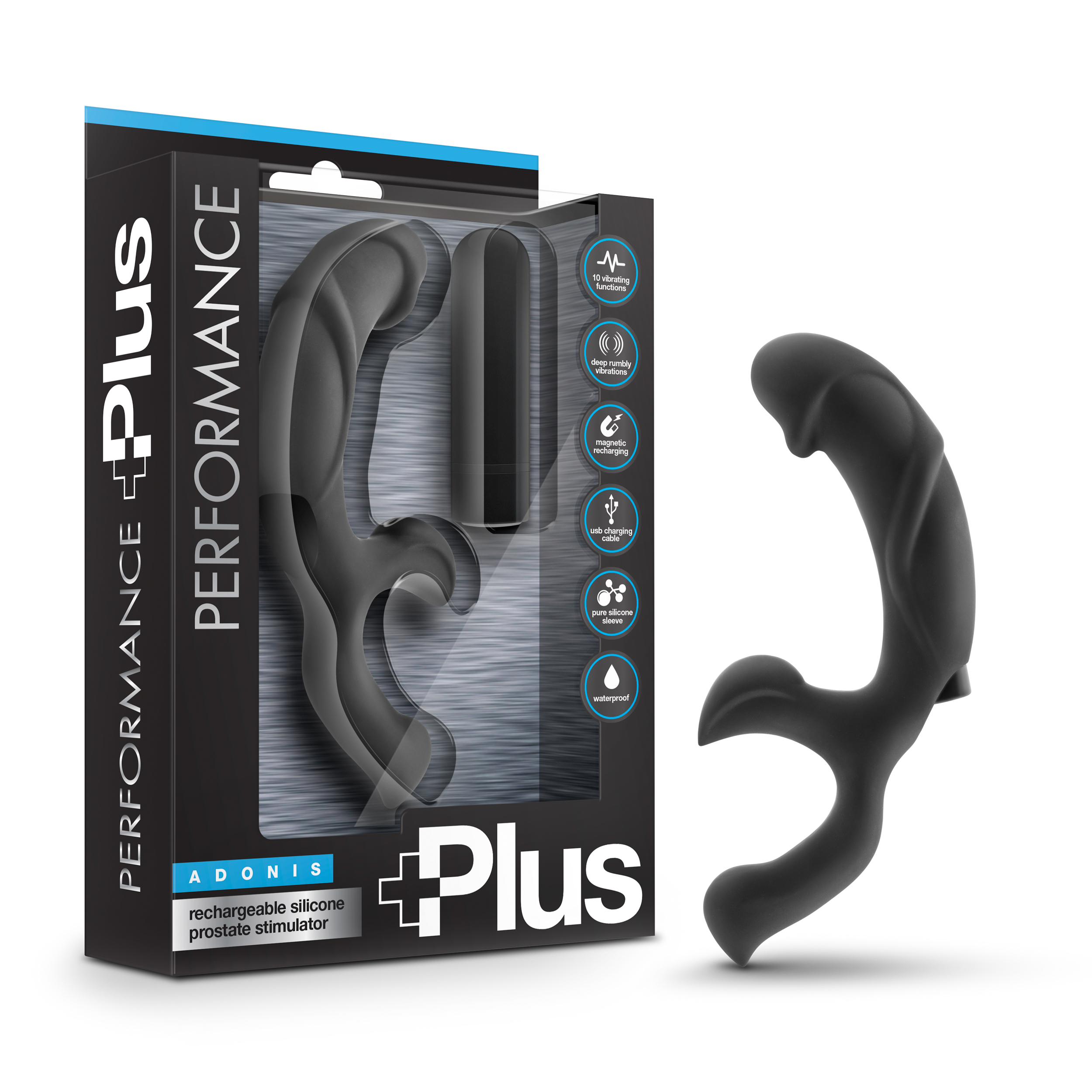 Performance Plus - Adonis - Black