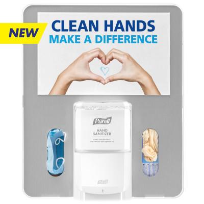 PURELL® MESSENGER™ Floor Stand Hygiene Bracket