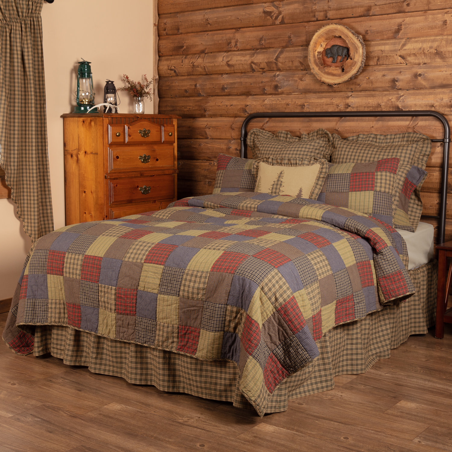 Cedar Ridge California King Quilt 130Wx115L