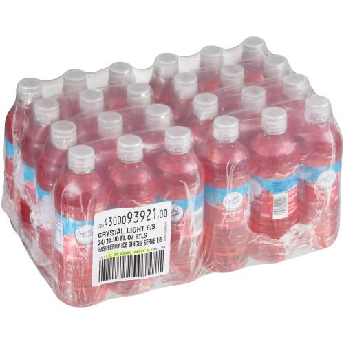Crystal Light Bottle - Raspberry Ice, 16 oz.