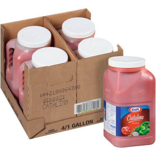 KRAFT Catalina Salad Dressing, 1 gal. Jugs (Pack of 4)