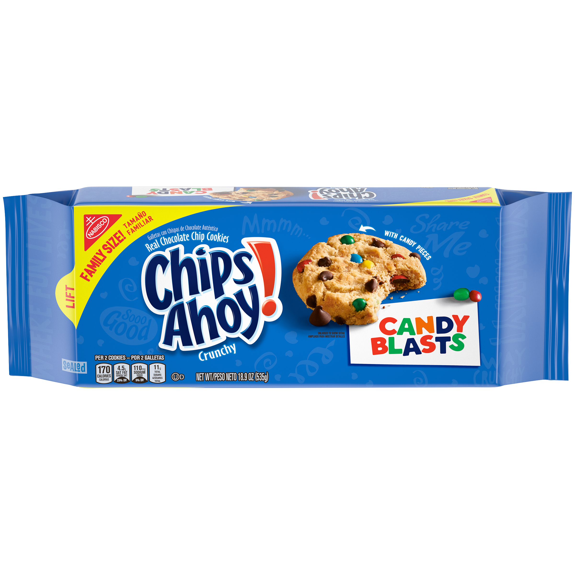 CHIPS AHOY! Candy Cookies 18.9 oz