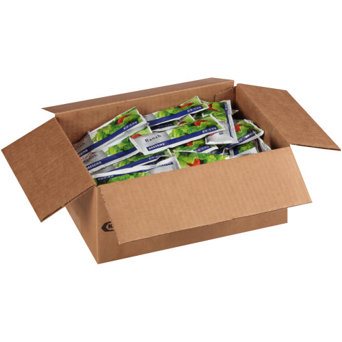 KRAFT Single Serve Ranch Salad Dressing, 1 oz. Packets (Pack of 100)