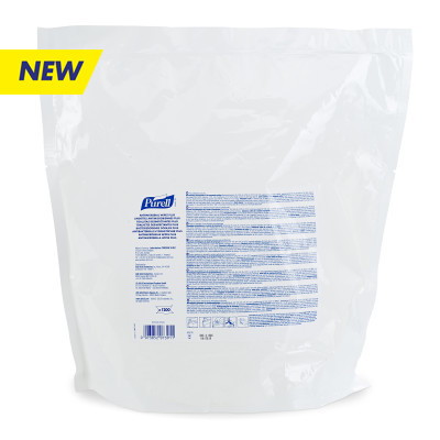 PURELL® Antimicrobial Wipes Plus