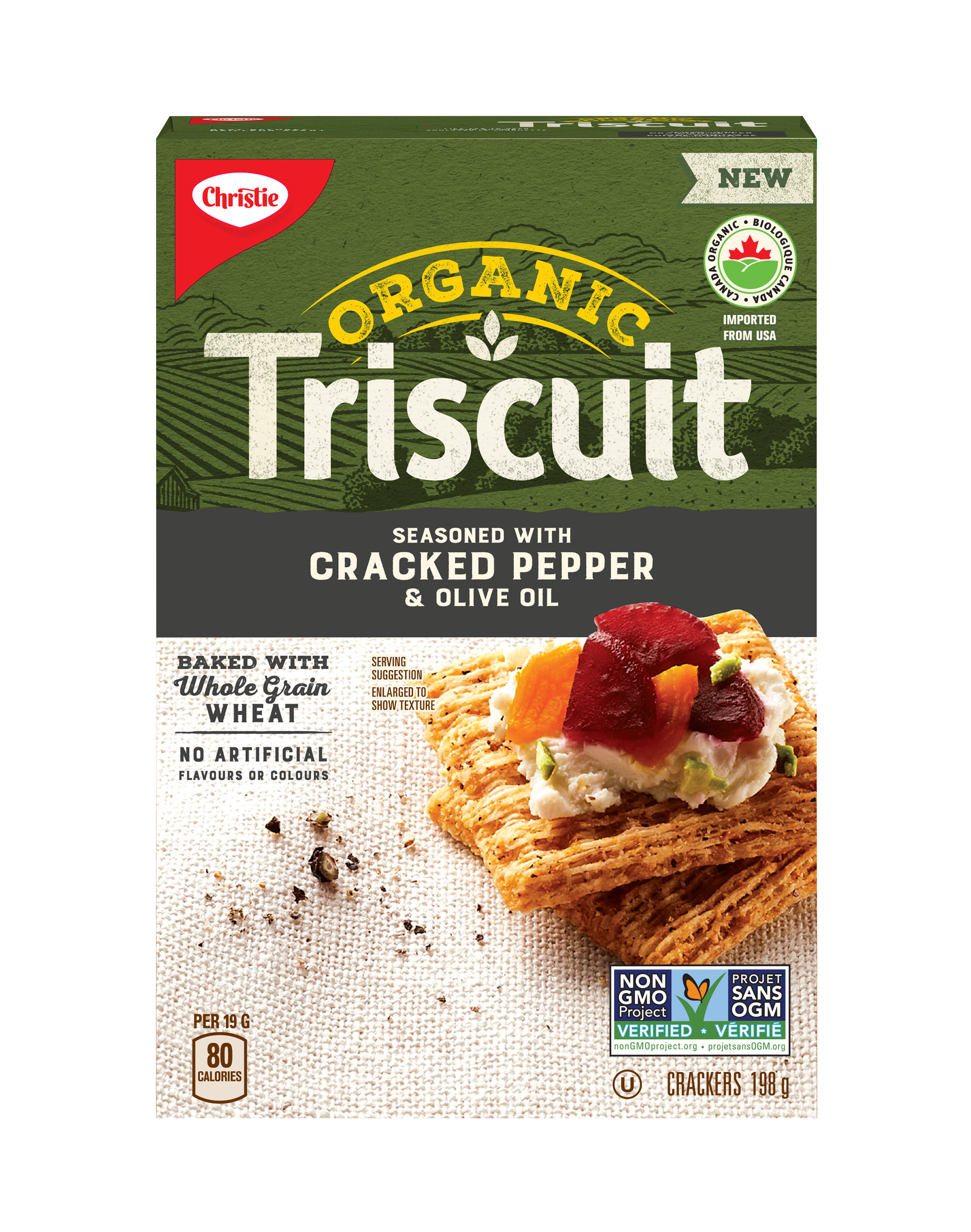 TRISCUIT  CRACKED PEPPER 198 GRM