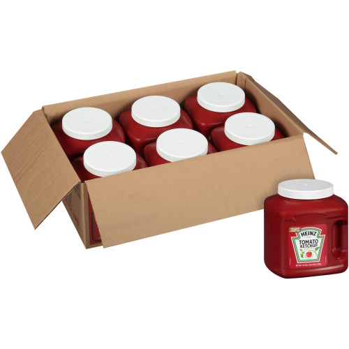 HEINZ Bulk Ketchup Jug, 114 oz. Container (Pack of 6)