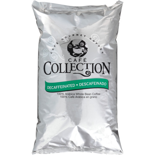 CAFÉ COLLECTIONS Espresso Roast Whole Bean Coffee, 4 lb. Bag (Pack of 2)