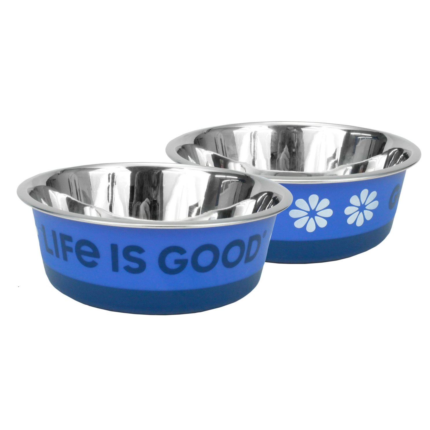 Life is Good® Stainless Pet Bowl