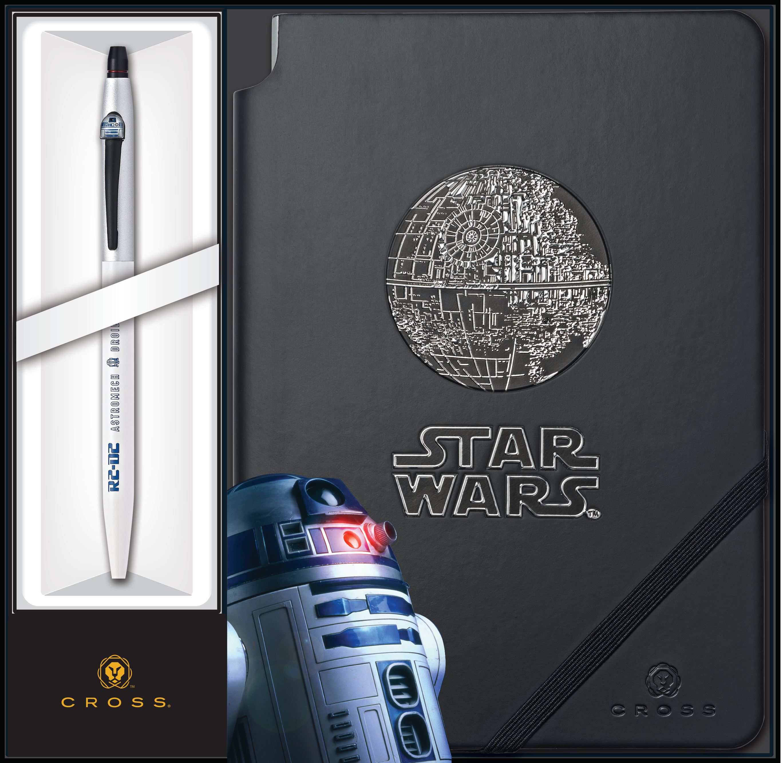 Cross Click and Journal Star Wars™ R2-D2 Gift Set