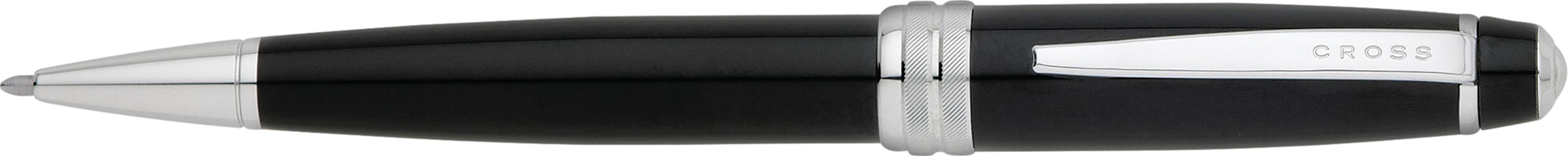 Bailey Black Lacquer Ballpoint Pen
