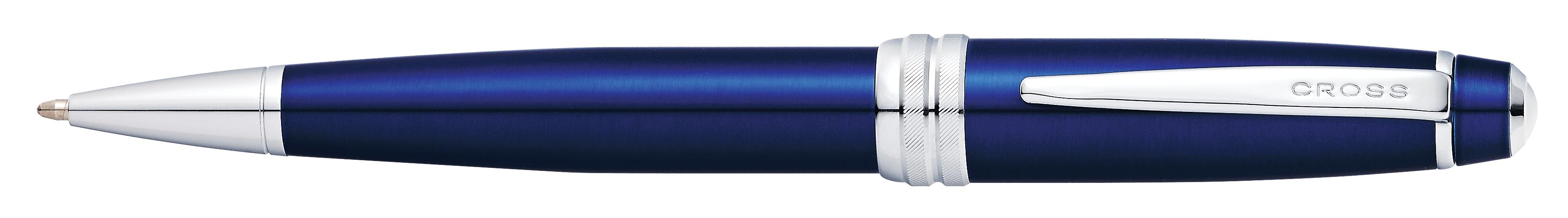 Bailey Blue Lacquer Ballpoint Pen (self-serve box)