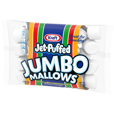 JET-PUFFED Jumbo Everyday Marshmallows 24oz Bag