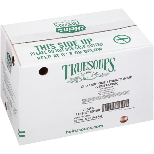 HEINZ TRUESOUPS Old Fashioned Creamy Tomato Soup, 8 lb. Bag (Pack of 4)