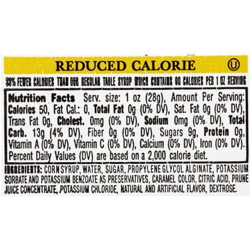 PPI Single Serve Reduced Calorie Table Syrup, 1 oz. Cups (Pack of 100)