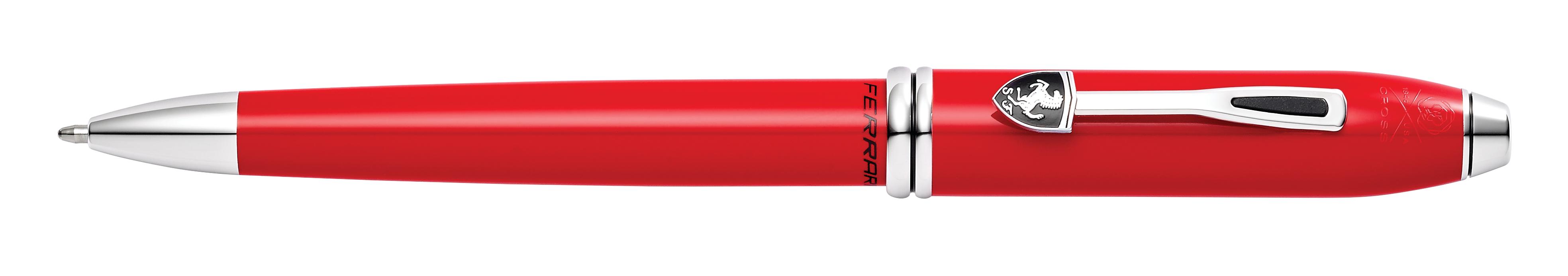Cross Townsend Collection for Scuderia Ferrari Rosso Corsa Red Lacquer Ballpoint Pen