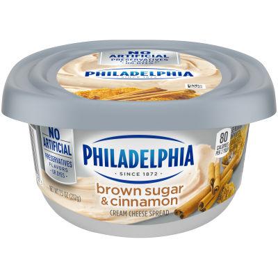 Philadelphia Brown Sugar Cream Cheese Spread 7.5 oz Tub