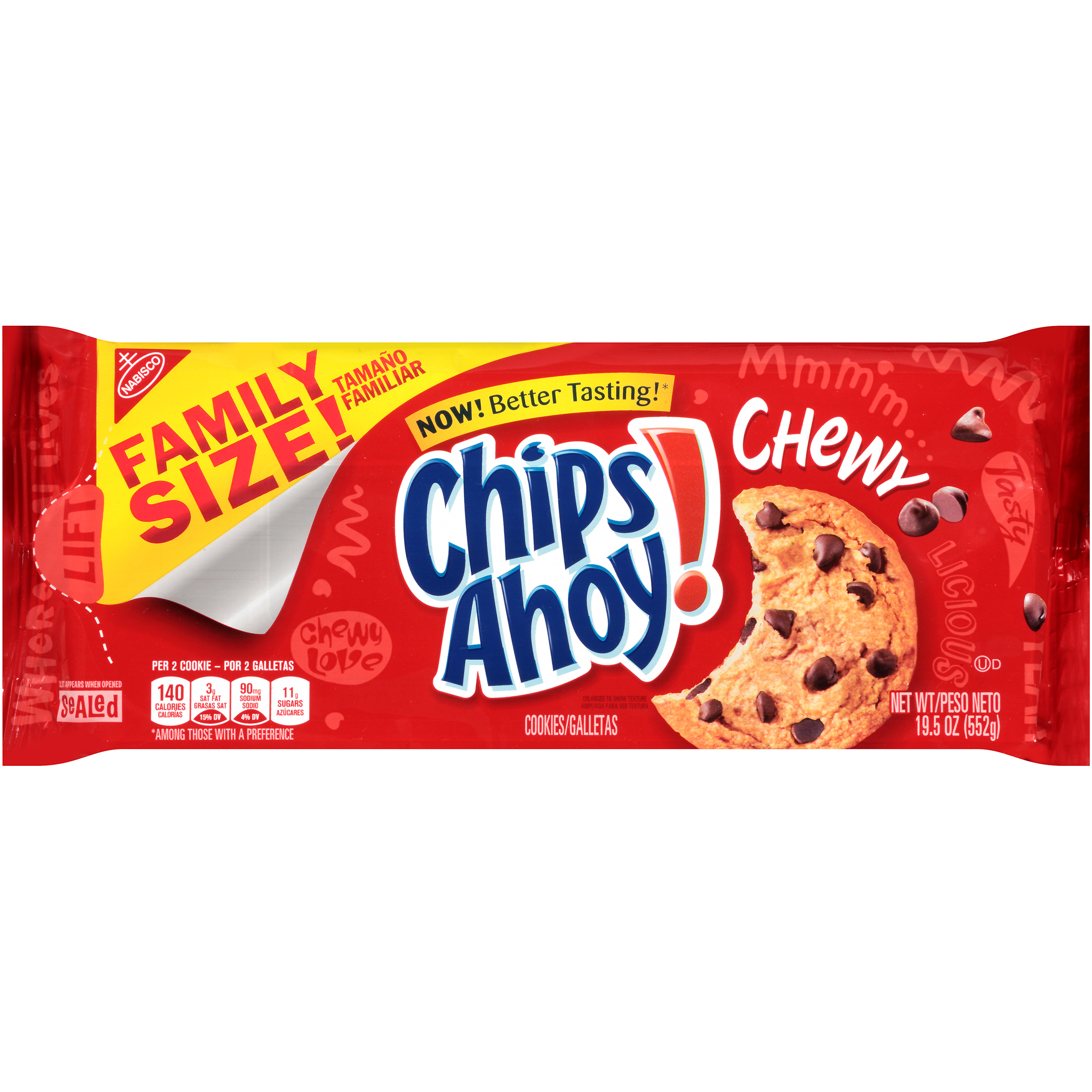 CHIPS AHOY! Chewy Chewy Cookies 19.5 oz
