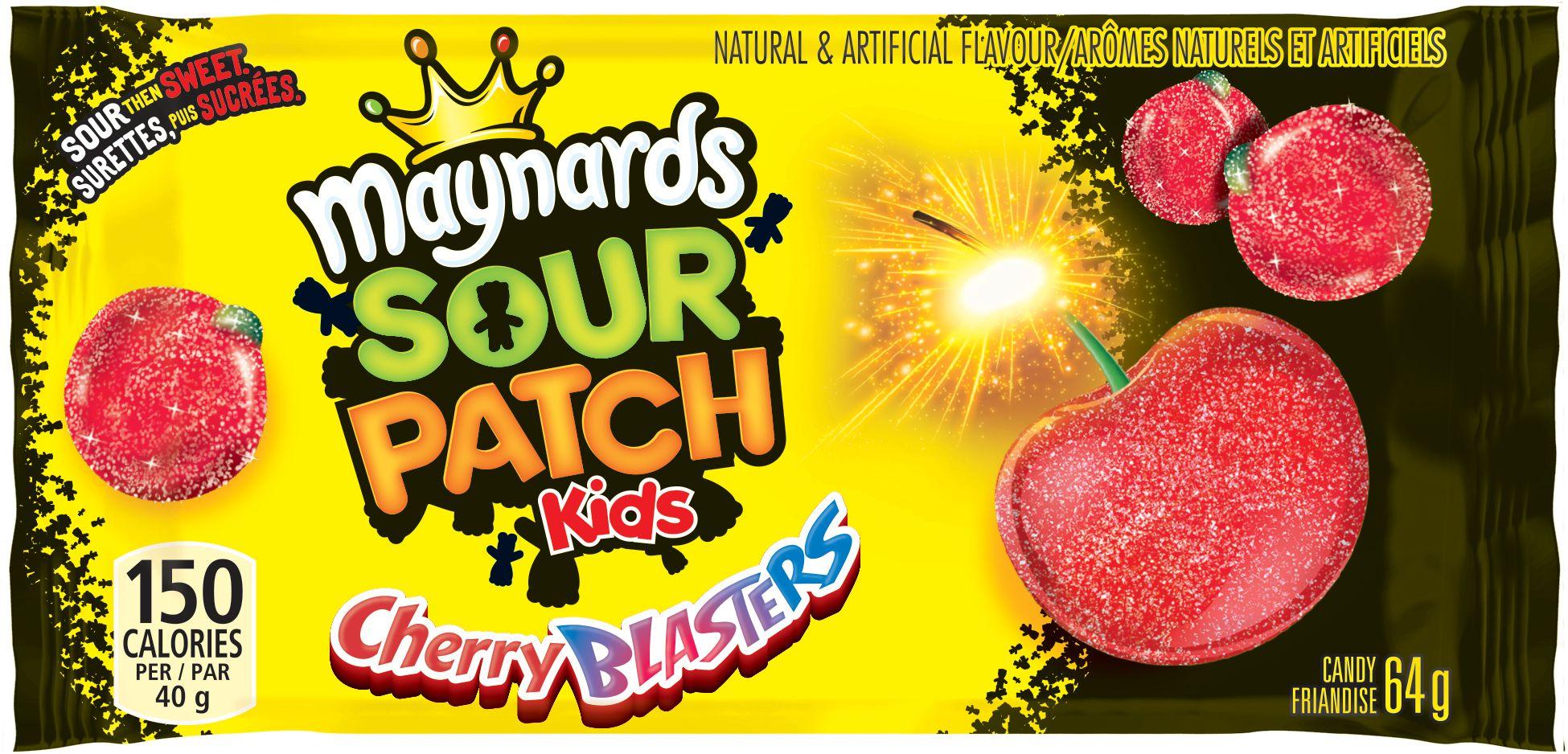 MAYNARDS Sour Patch Kids CHERRY BLASTERS 64 GRM