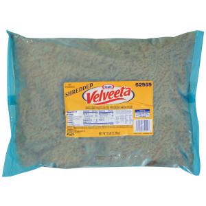 VELVEETA American Shredded Cheese, 5 Lb. Pouch (Pack of 4) image