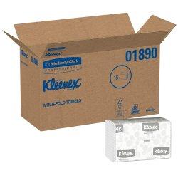 Kleenex Paper Towel Multi-Fold 9-3/10 X 9-2/5 Inch, 01890 - Case of 2400
