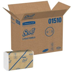 Scott Paper Towel C-Fold 10-1/8 X 13-3/20 Inch, 01510 - Case of 12