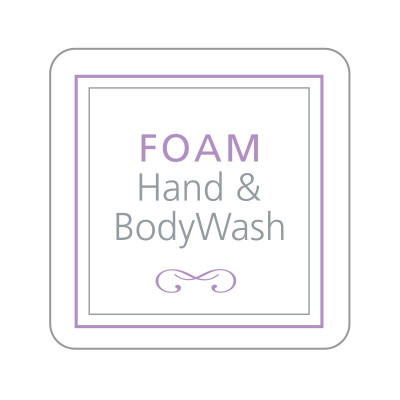 Dispenser Label - Foam Hand & Body Wash