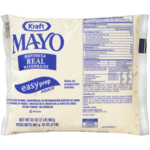 KRAFT Real Mayonnaise, 32 oz. Pouches (Pack of 16) image