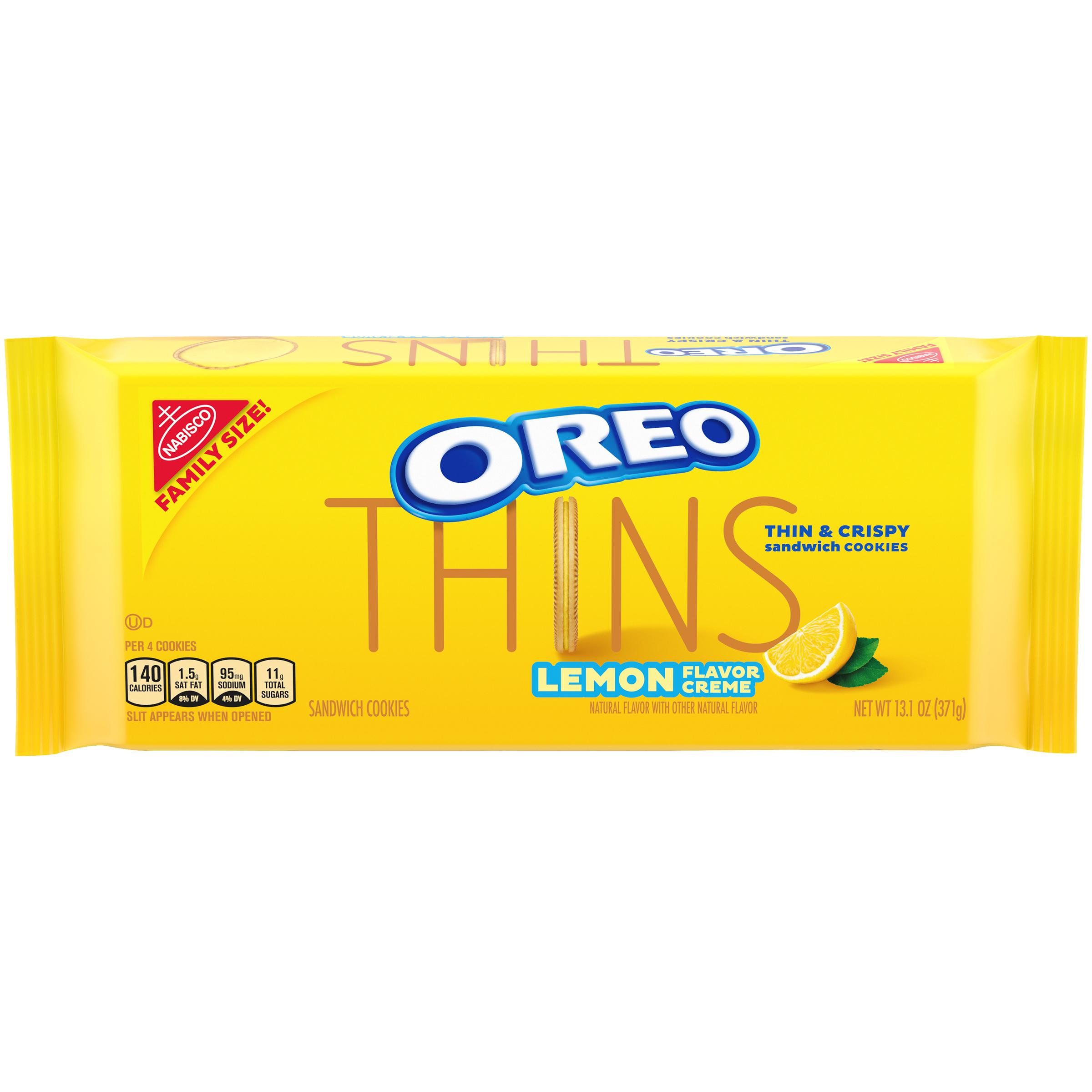 OREO Thins Lemon Cookies 11.6 oz
