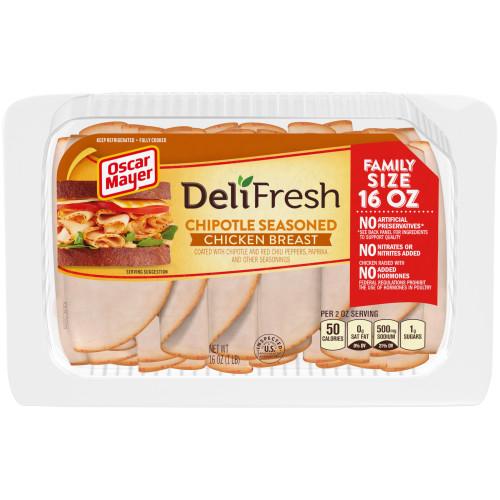 OSCAR MAYER Deli Fresh Chipotle Seasoned Chicken Breast 16oz Tray