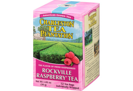Rockville Raspberry® Pyramid Bags - Case of 6 boxes- total of 72 teabags