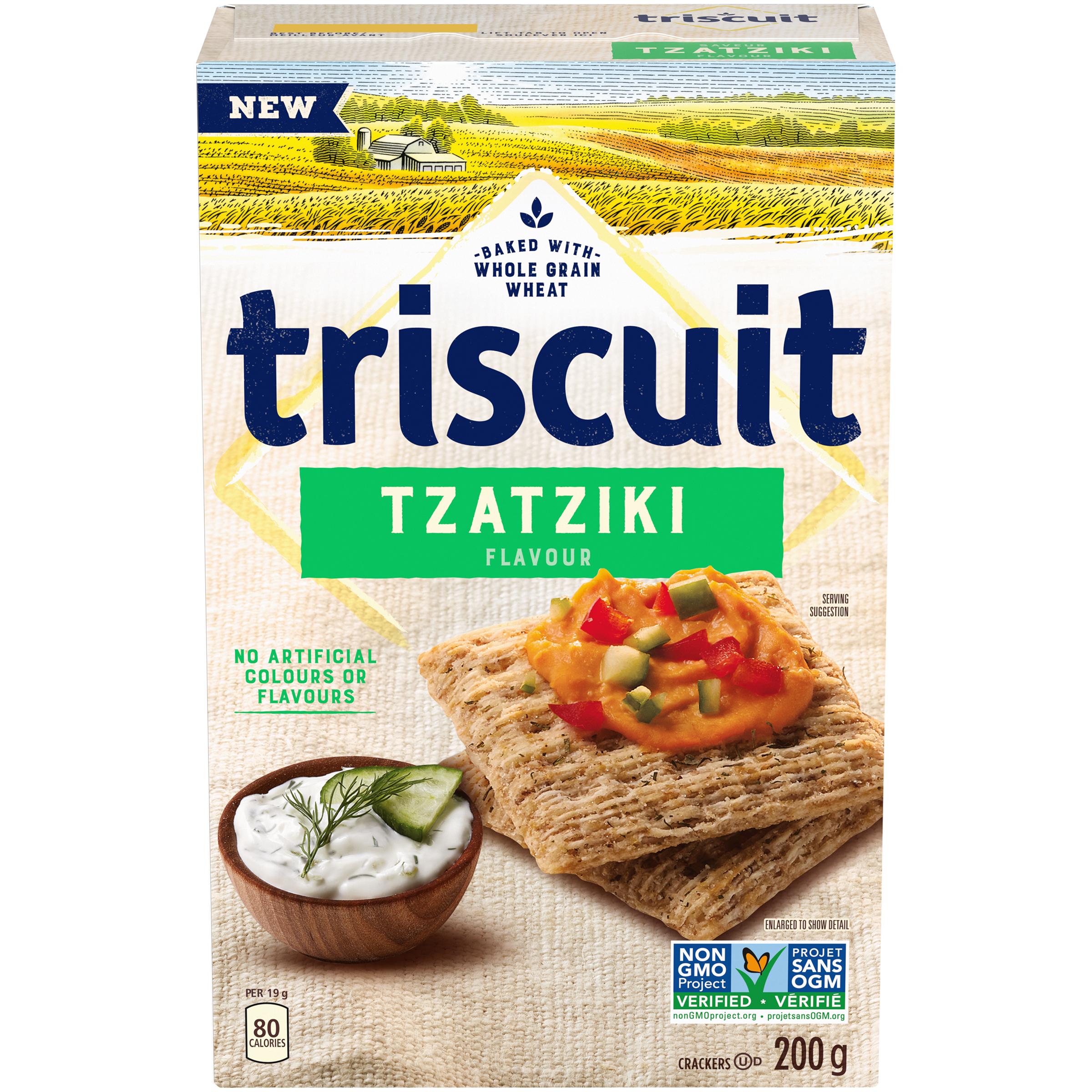Triscuit Tzatziki Crackers 200 G