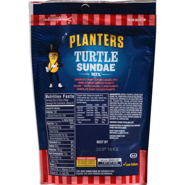 PLANTERS Turtle Sundae Mix 6 oz Bag
