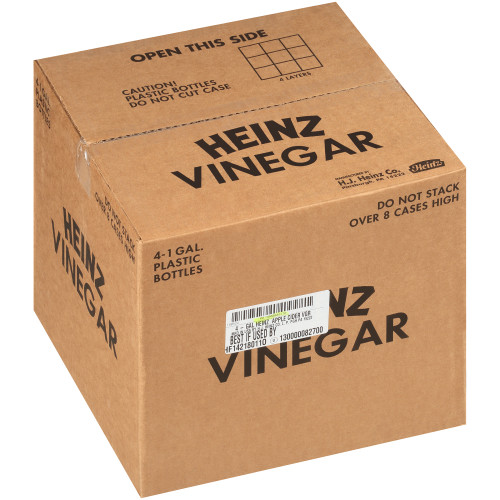 HEINZ Apple Cider Vinegar, 1 gal. Jugs (Pack of 4)
