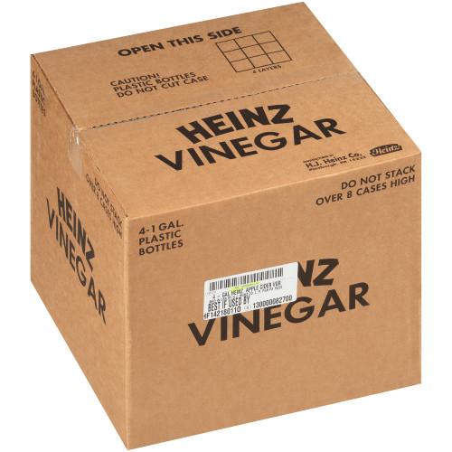 HEINZ Apple Cider Vinegar, 1 gal. Jugs (Pack of 4)