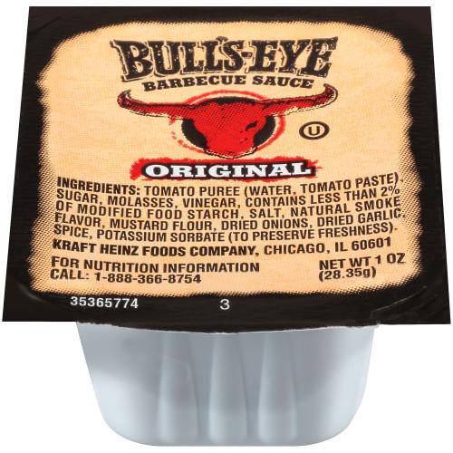 BULL'S-EYE Original BBQ Sauce, 1 oz. Cups (Pack of 100)