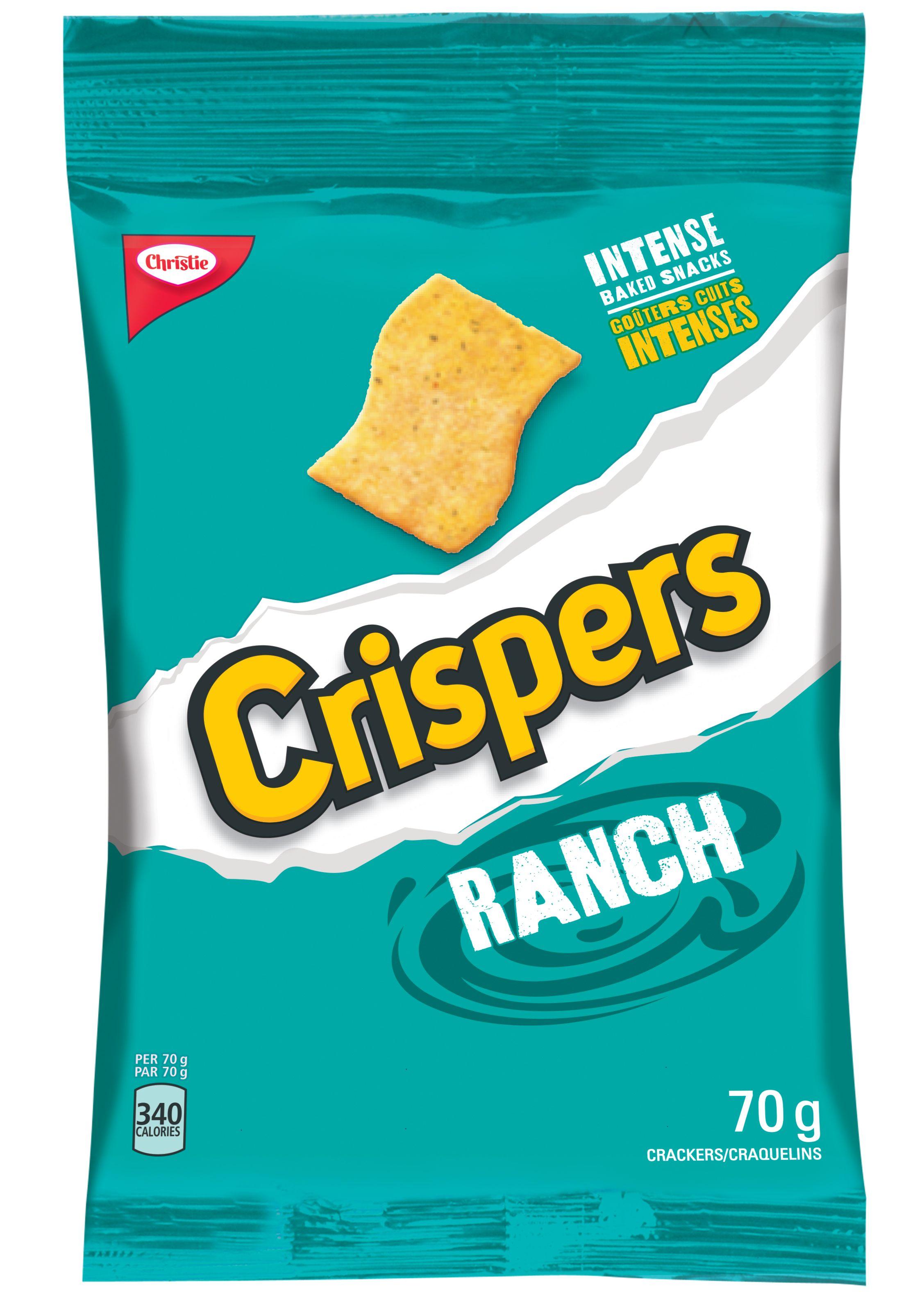 Crispers Ranch Crackers 70 G