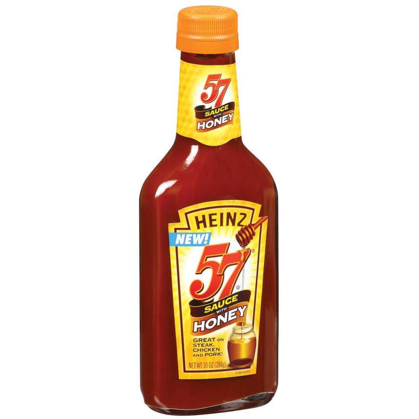 Heinz 57 W/Honey Sauce 10 Oz Bottle