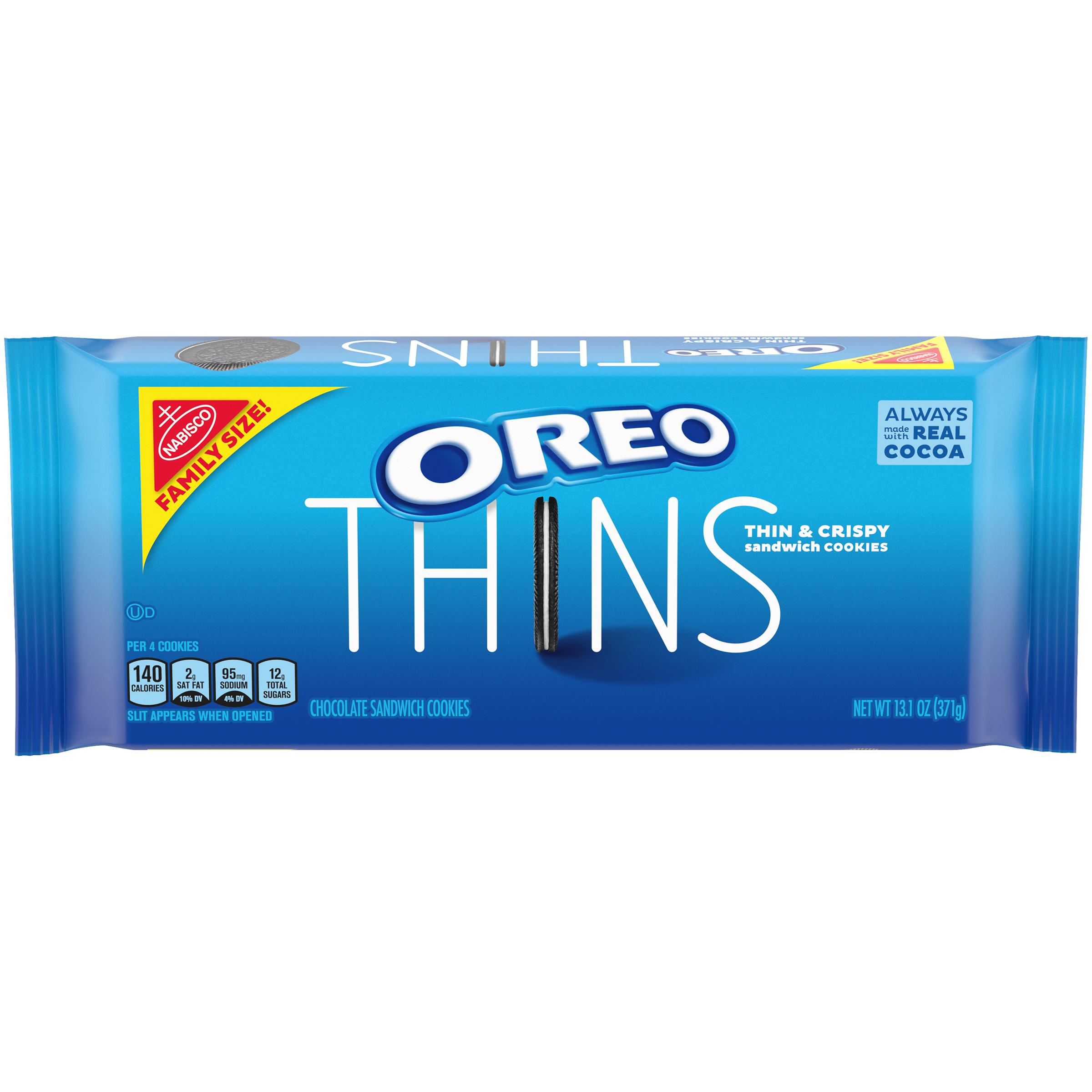 OREO Thins Family Size Cookies 13.1 oz
