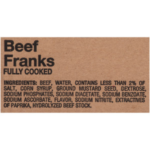 Oscar Mayer Beef Franks image