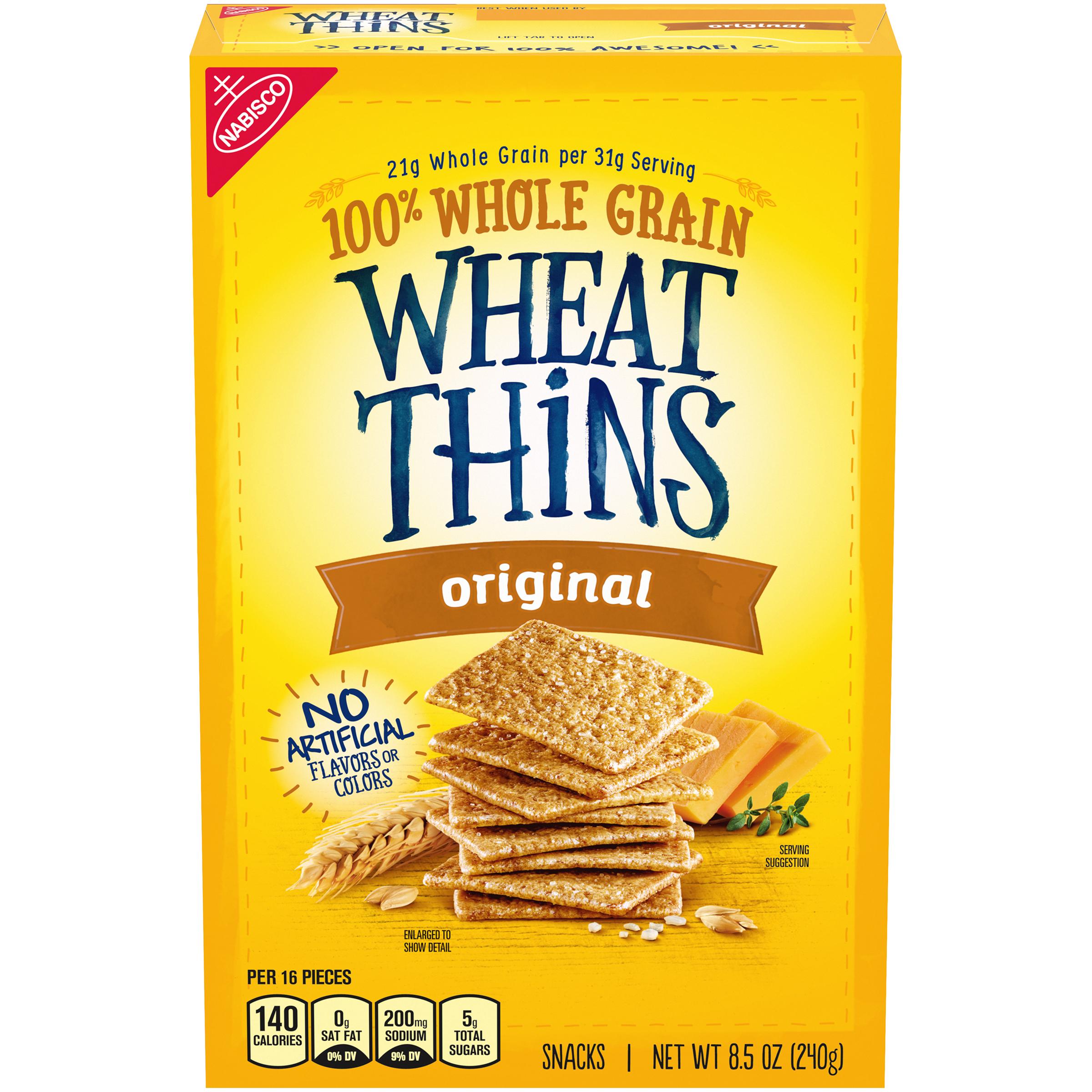 WHEAT THINS Original Crackers 8.5 Oz